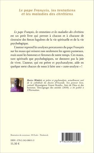 4eme Le pape François, les tentations et les maladies des chrétiens