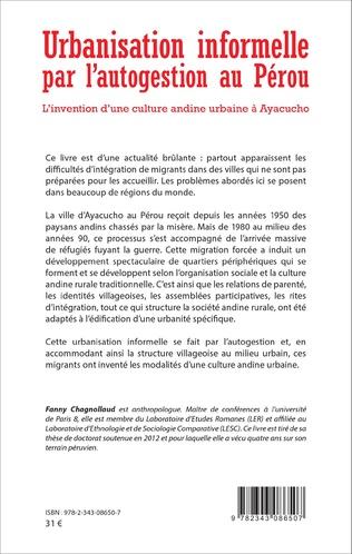4eme Urbanisation informelle par l'autogestion au Pérou