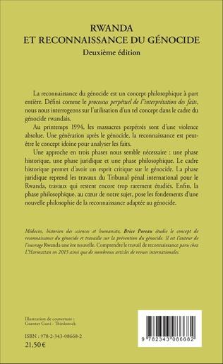 4eme Rwanda et reconnaissance du génocide