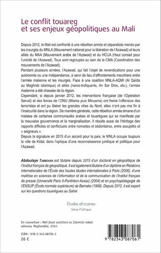 4eme Le conflit touareg et ses enjeux géopolitiques au Mali
