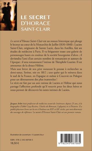 4eme Le secret d'Horace Saint-Clair