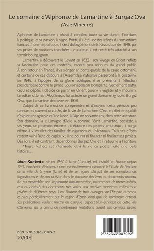 4eme Le domaine d'Alphonse de Lamartine à Burgaz Ova (Asie Mineure)