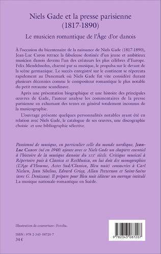 4eme Niels Gade et la presse parisienne (1817-1890)