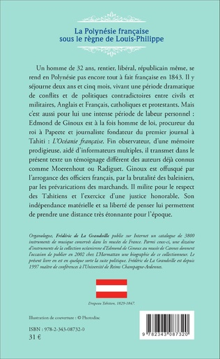 4eme La Polynésie française sous le règne de Louis-Philippe (1836-1846)