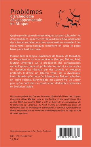 4eme Problèmes d'archéologie développementale en Afrique