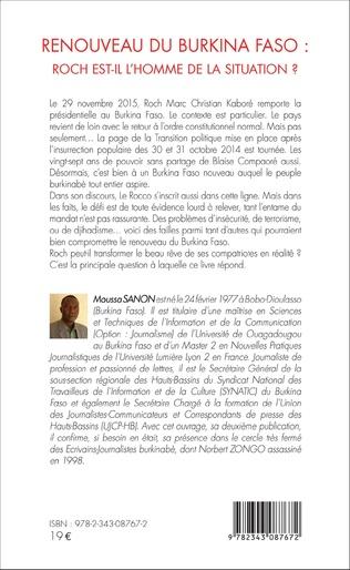 4eme Renouveau du Burkina Faso