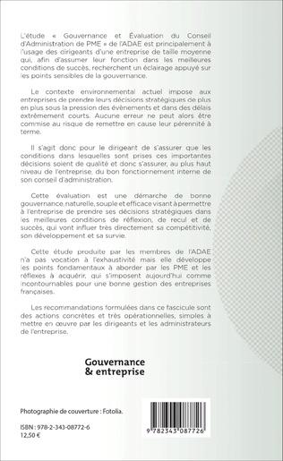 4eme Le Conseil d'administration des PME
