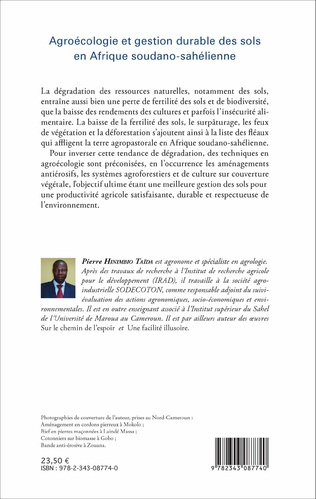 4eme Agroécologie et gestion durable des sols en Afrique soudano-sahélienne