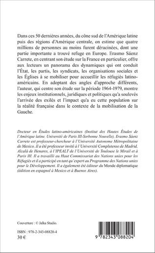4eme L'EXIL LATINO-AMÉRICAIN EN FRANCE