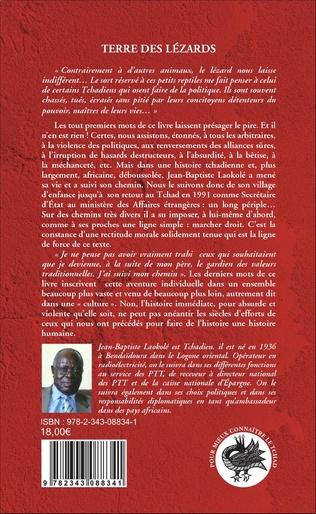 4eme Terre des lézards. Autobiographie