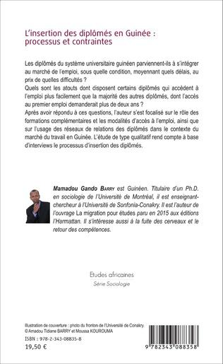 4eme L'insertion des diplômés en Guinée : processus et contraintes