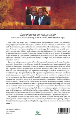 4eme Conjonctures congolaises 2015