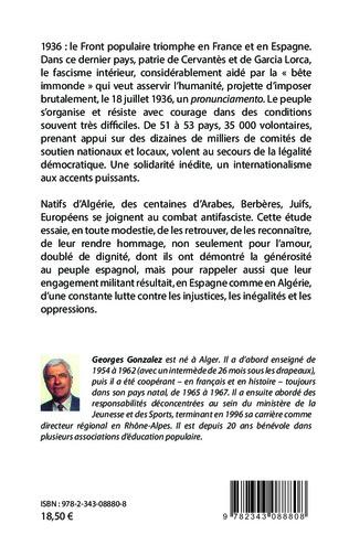 4eme L'Algérie dans les brigades internationales