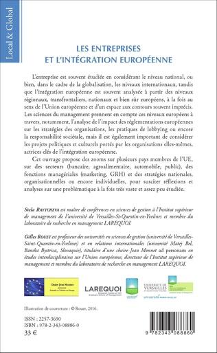 4eme Les Entreprises et l'intégration européenne