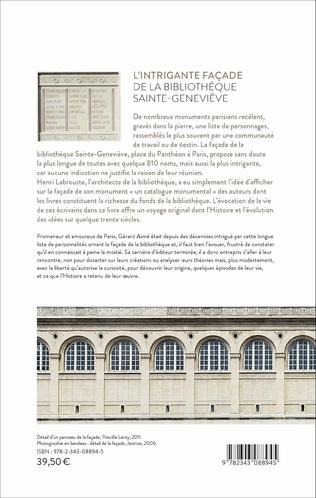 4eme L'intrigante façade de la bibliothèque Sainte Geneviève