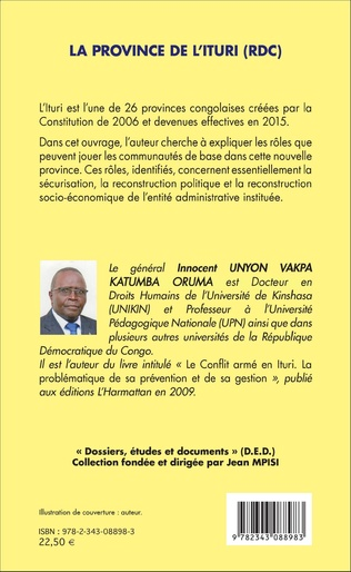 4eme La province de l'Ituri (RDC)