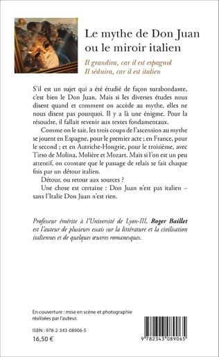 4eme Le mythe de Don Juan ou le miroir italien