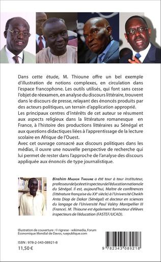 4eme L'espace public sénégalais