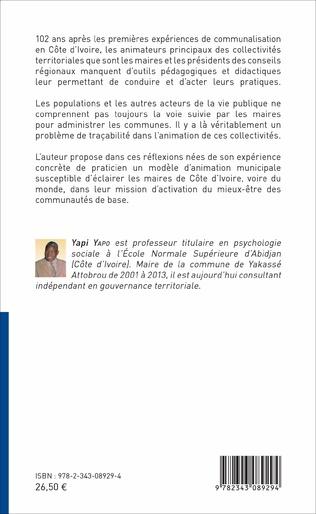 4eme Un modèle d'animation municipale en Côte d'Ivoire