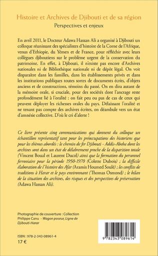 4eme Histoire et Archives de Djibouti et de sa région
