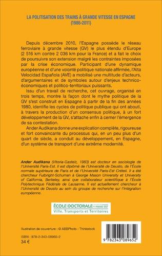 4eme La politisation des trains à grande vitesse en Espagne (1986-2011)