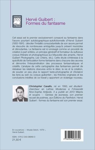 4eme Hervé Guibert : Formes du fantasme