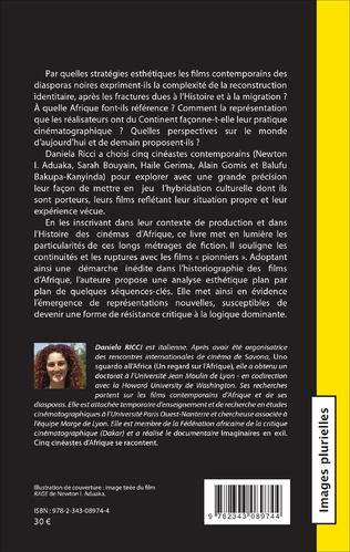 4eme Cinémas des diasporas noires : esthétiques de la reconstruction
