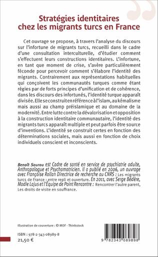 4eme Stratégies identitaires chez les migrants turcs en France