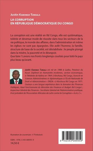 4eme La corruption en République démocratique du Congo