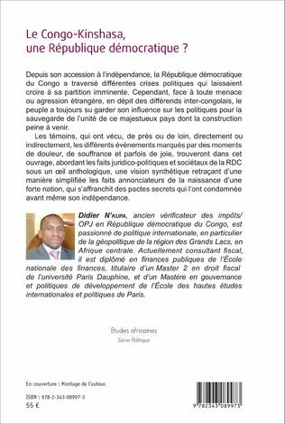 4eme Le Congo-Kinshasa, une République démocratique ?