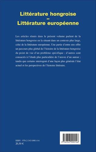 4eme Littérature hongroise - littérature européenne