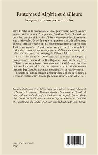 4eme Fantômes d'Algérie et d'ailleurs