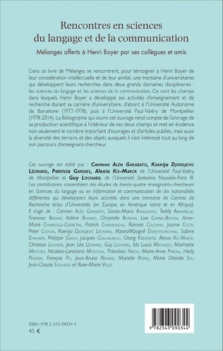 4eme Rencontres en sciences du langage et de la communication