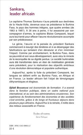 4eme Sankara, leader africain