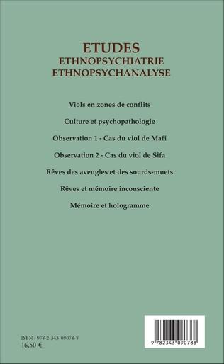 4eme Etudes ethnopsychiatrie ethnopsychanalyse