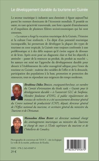 4eme Le développement durable du tourisme en Guinée