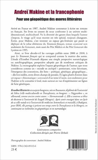 4eme Andreï Makine et la francophonie