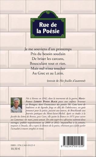 4eme Rue de la poésie. Poèmes