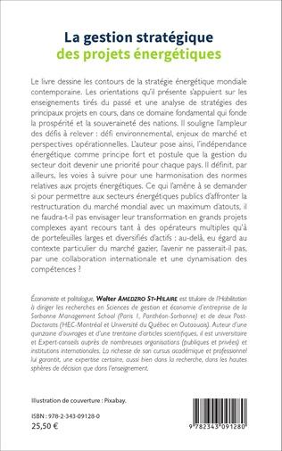 4eme La gestion stratégique des projets énergétiques