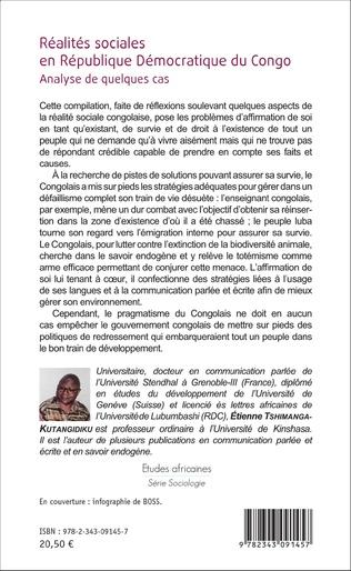 4eme Réalités sociales en République Démocratique du Congo
