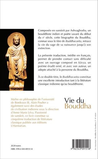 Vie Du Bouddha Poeme Traduit Du Sanskrit Et Annote Par