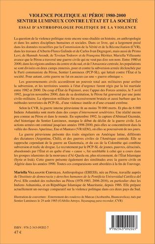 4eme Violence politique au Pérou 1980-2000