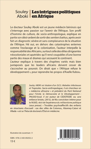 4eme Les intrigues politiques en Afrique