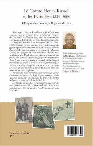 4eme Le Comte Henry Russell et les Pyrénées (1834-1909)