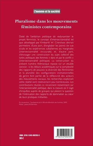 4eme Pluralisme dans les mouvements féministes contemporains