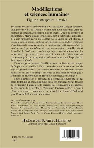 4eme Modélisations et sciences humaines