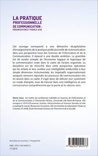 4eme La pratique professionnelle de communication : organisation et parole vive