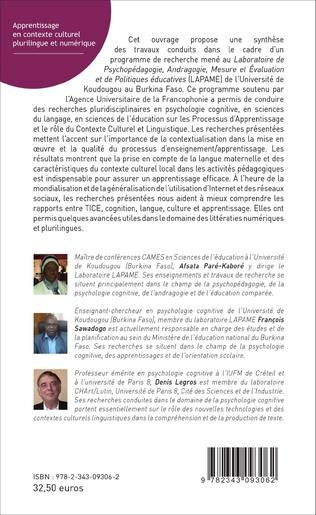 4eme Apprentissage en contexte culturel plurilingue et numérique