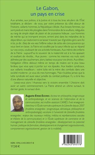 4eme Le Gabon, un pays en crise