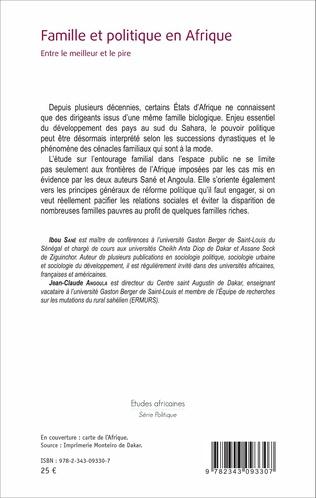 4eme Famille et politique en Afrique